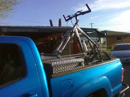 Things I've Been Up To... Winching Out Trees, Building A Bike Rack ... Homemade Roof Bike Rack Best 2018 Saris Kool Rack All Terrain Cycles Appealing Kayak For Truck 1 Img 0879 Lyricalembercom Bed S Diy Pvc Pickup Bicycle Carrier Ideas Fresh The Rhmaluswartjescom For Baja Toyota Fj Cruiser Forum Bikejonwin Cungbakinfo Bike Rack Truck Bed Homemade Gallery And News Cap Cab Vehicle