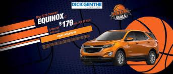 100 Best Truck Lease Deals Detroit Chevy Specials Dick Genthe Chevrolet