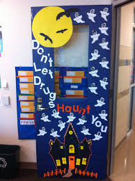 Kindergarten Halloween Door Decorations by Got The Door Decorated For Red Ribbon Week Thanks Mom For Helping