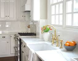 Rohl Unlacquered Brass Faucet by Kitchen Faucet Rapture Unlacquered Brass Kitchen Faucet