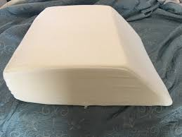 Intevision Foam Wedge Bed Pillow by The Pc Weenies Review Intevision Wedge Pillow