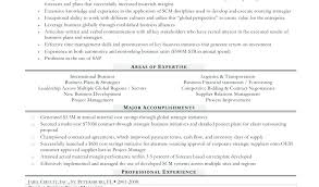 Procurement Resume Objective