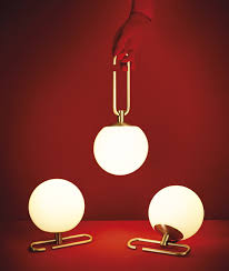 neri hu s lantern inspired lights sit on or hang from adjustable