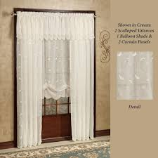 White Sheer Voile Curtains by Sheer Curtains U0026 Window Treatments Touch Of Class