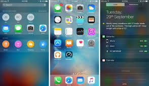 iphone 6s plus review 2015 screenshot homescreen battery Gad