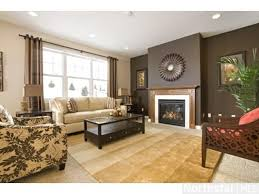 living room brown living rooms room colors modern paint table