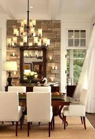 Dining Room Accent Wall Stone Wallpaper