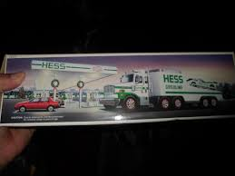 VINTAGE 1988 HESS Toy Truck & Racer - $20.00 | PicClick Evan And Laurens Cool Blog 2113 Hess Toy Truck Tractor 2013 Photo Story A Museum Apopriately Enough On Wheels Celebrates The Missys Product Reviews Hess Dragster Holiday Gift Childhoodreamer Nib Box Has Damaged Corners Ends Vintage 1988 Racer 2000 Pclick Sp Custom Hot Wheels Diecast Cars Trucks Gas Station Toy Truck 2014 Only 3600 Fun For Collectors The 2017 Are Minis Mommies With Style