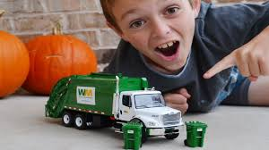 100 Garbage Truck Video Youtube First Gear Diecast Unboxing L For