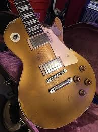 Gibson 57 True Historic Relic Les Paul Goldtop