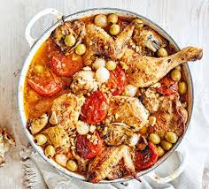 provencal cuisine chicken provençal with olives artichokes recipe food