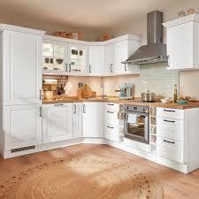 eckküche sylt in alpinweiß