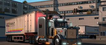 Peterbilt 389 Modified Truck V2.1 ATS - American Truck Simulator Mod ... Peterbilt 386 Exterior Accsories Truck Specific Chrome Custom Made With High Quality Steel Dieters Front Grille Ovals Peterbilt 359 V10a Ats Mods American Truck Simulator 567 And Trims Roadworks Manufacturing Homepageslidpeterbiltlg Cabover 352 Vehicle Trucks 579 Cabin V 12 Mod Simulator