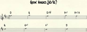 transcriptions goin ahead by pat metheny submitted by