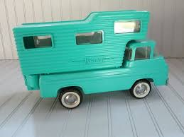 C. 1960's Nylint Ford Econoline Camper Pick-Up Truck - Aqua | Ford ... Vintage Nylint Metal Dolly Madison Cake Big Rig Truck 21long Hard To Vintage Pickup Truck Cadet Bike Buggy Red Cab 761 Usa 13 U Haul Ford Pick Up Toy And Trailer Ardiafm Chevy Blazer Clean With Uhaul Nice Set Lk 55 Aerial Hook N Ladder 1970s 1989 Sound Machine Fire Water Cannon Nylint Trucks 1830210882 Amazoncom Classics Coal Gravel Steel Muscle Dump Hakes Cadet Camper And Pickup Boxed Truck Pair Speedway Special And 500 Racer For Sale Antique Toys