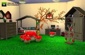 chambre foret les sims 4 automne chambre enfants foret stage