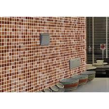 Glass Backsplash Tile Cheap by Glass Mosaic Tile Sheet Wall Stickers Kitchen Backsplash Tile