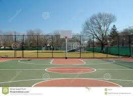 terrain de basket exterieur terrain de basket 2 photographie stock image 76472