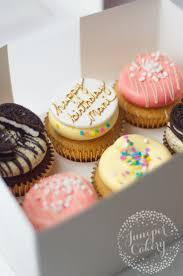 Happy Birthday cupcakes by Juniper Cakery