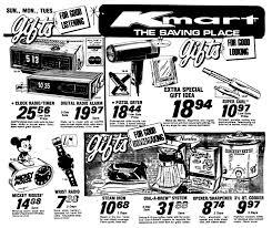 Kmart Christmas Trees Black Friday by Kmart Christmas Gifts December 1977 1970 U0027s U0026 1980 U0027s Newspaper