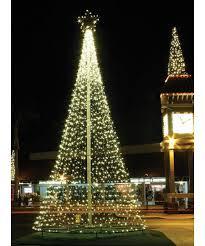 Flag Pole Tree Of Lights