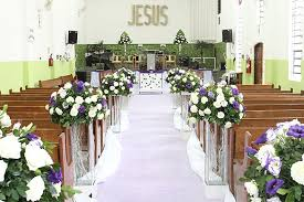 Church Wedding Decorations Captivating Decorations01