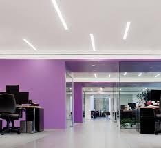 led linear slot lighting rab lighting