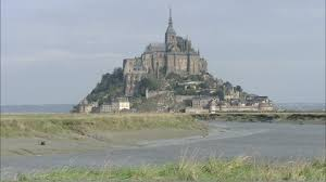 mont michel maree mont michel normandy hd stock 701 105 451