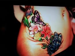Absolutely Gorgeous Lower Stomach Tattoos