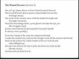 walt whitman the wound dresser meaning happy birthday walt whitman song of myself civil war poetry may 31