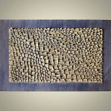 Acrylic Decorative Wall Panels Textured Panel Abstract Sculpture 3d