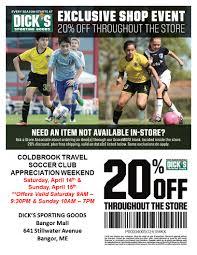 Customer Appreciation Weekend At Dick's Sporting Goods – Coldbrook Print Dicks Sporting Goods Coupons Coupon Codes Blog Top 10 Punto Medio Noticias Fanatics Code Reddit Dover Coupon Codes 2018 Beautyjoint Code November The Rules You Can Bend Or Break And The Stores That Let Dickssporting Good David Baskets Mr Heater Tarot Deals Aldi 5 Off Ninja Restaurant Nyc Official Web Site Dicks Park Exclusive Shop Event Calendar Meeting List Additional Coupons 2016 Bridesburg Cougars Add A Fitness Tracker In App Apple