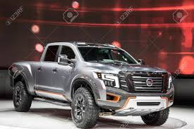 DETROIT - JANUARY 17 :The 2017 Nissan Titan Pickup Truck At The ... 2016 Nissan Titan Xd 56l 4x4 Test Review Car And Driver Used Navara Pickup Trucks Year 2006 Price 4791 For Sale Longterm 2018 Frontier Expert Reviews Specs Photos Carscom Navara Wikipedia Toyota Take Another Swipe At Pickup Pickup Flatbed 4x4 Commercial Truck Egypt What To Expect From The Resigned Midsize 2014 Rating Motor Trend Elegant Models Diesel Dig Lowbed Cars Sale On Carousell