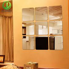 12x12 Mirror Tiles Beveled by Online Get Cheap Diy Mirror Tiles Aliexpress Com Alibaba Group