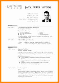 Resume Templates International Standards Format Elegant How To Draft Cv Boy Of Nice Standard