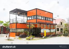 100 Modern Steel Building Homes Metal Made Shipping House RoyaltyFree