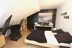 deco noir et blanc chambre deco chambre lit noir photo maison contemporaine bois noir et