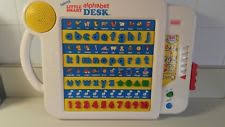 vtech smart alphabet picture desk vtech smart alphabet desk electronic learning educational