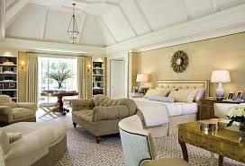 Marvelous Colonial Interior Design Luxurious Master Bedroom With Modern Classic Style Decor Elements