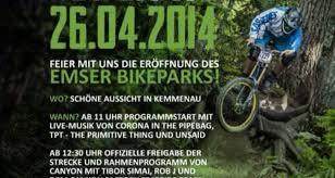 eröffnung des emser bikeparks bei bad ems am 26 april 2014