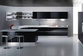 Furniture Interesting Black And White Kitchen Cabinet Designs