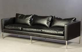 schwarzes sofa artifort 1960er