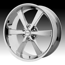 100 6 Lug Truck Rims American Racing VN509 Super Nova Chrome Custom Wheels
