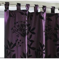 Plum Tab Top Satin Curtain panel HD Home Direct Limited