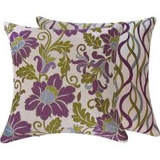 fortable Purple Decorative Pillows