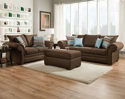 Living Room Decorating Brown Sofa by Brown Sofas Completing Design Of Living Room With Wooden Floor