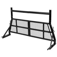 Apex Steel Adjustable Pickup Truck Headache Rack Vehicle Window ...