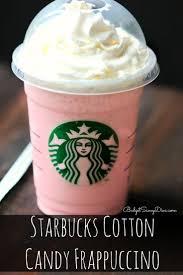 Pumpkin Pie Frappuccino Starbucks by Starbucks Cotton Candy Frappuccino Recipe Cotton Candy