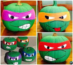 Tmnt Pumpkin Template by No Carve Halloween Pumpkin Decoration Crafts U0026 Instructions