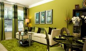 green colors for living room